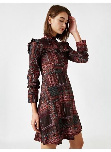 Koton Elbise Fuşya